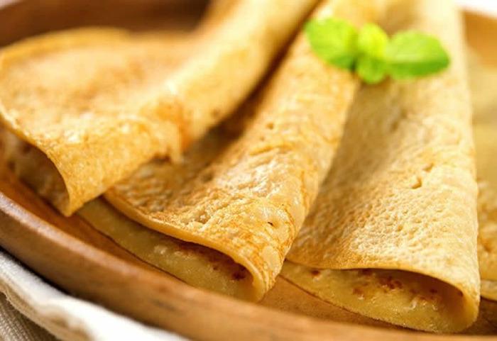 Crepioca tradicional e Crepioca de batata doce