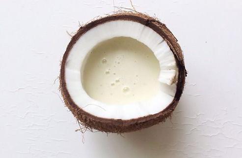 Coco seco com leite de coco