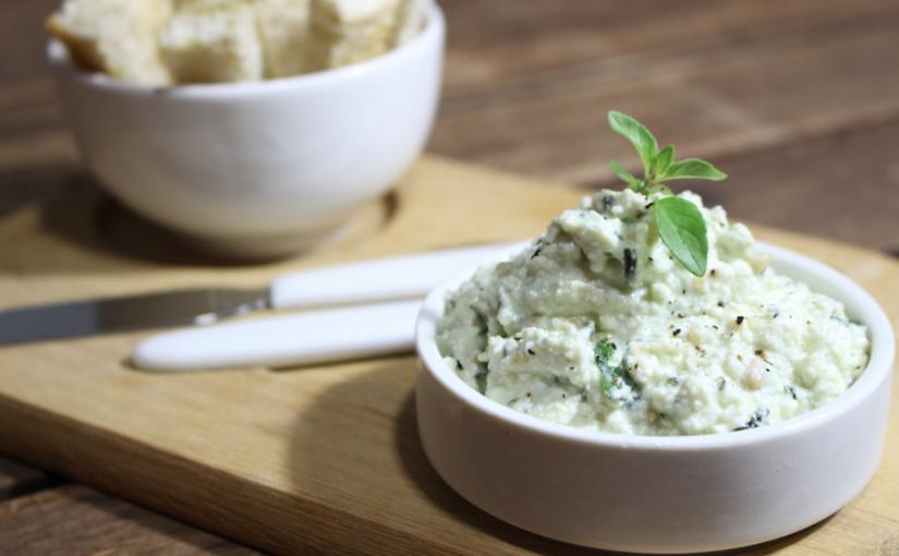 Receita de Patê de iogurte com ervas